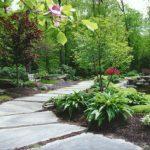 Cách bố trí lối vào vườn