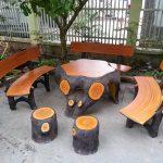 Bố trí ghế và chỗ ngồi trong trang trí sân vườn