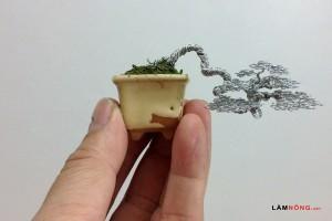 Cách uốn cây bonsai làm từ dây siêu đơn giản - cay bonsai lam tu day uon3 300x200